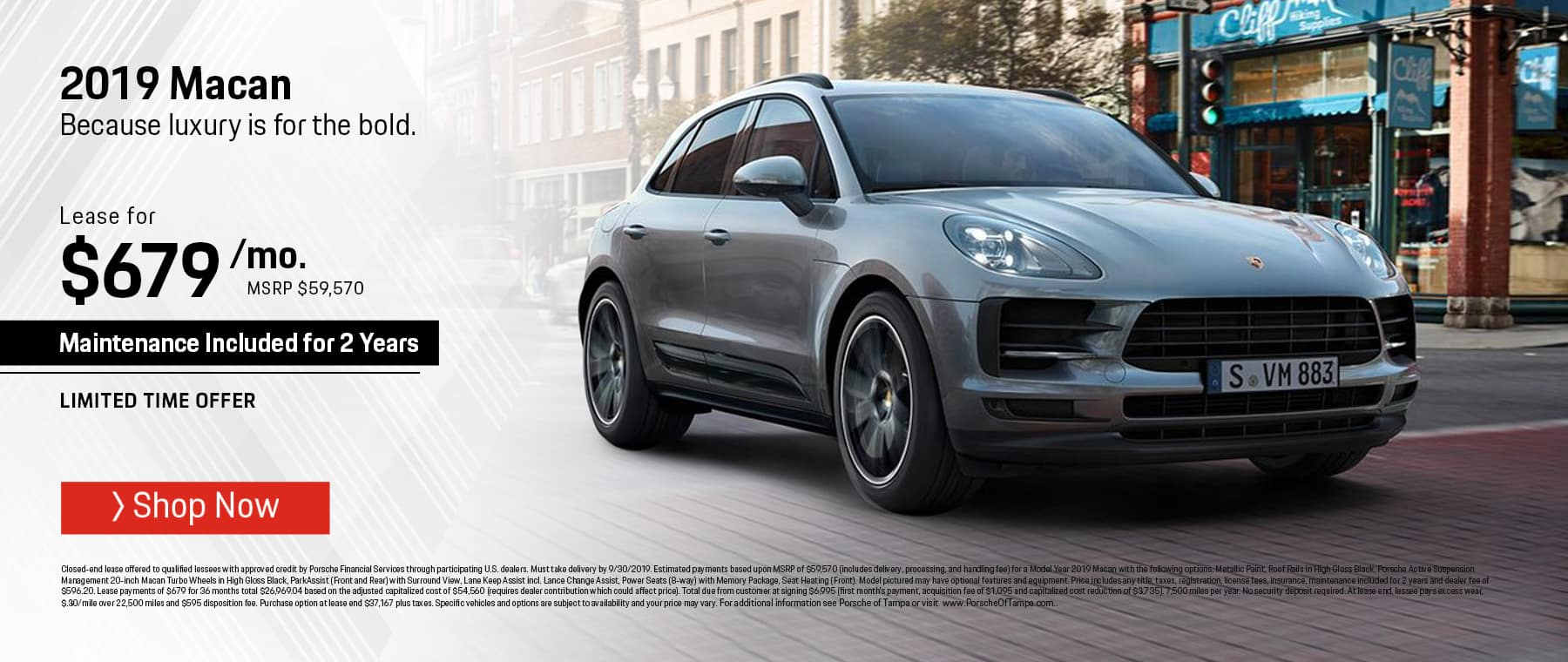 Porsche Macan Lease >> Porsche Of Tampa Porsche Dealer In Tampa Fl