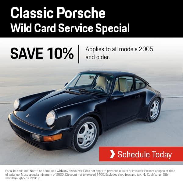 Porsche Service Wild Card