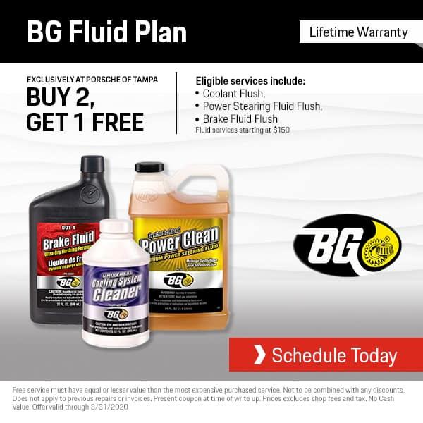 Porsche BG Fluid Plan
