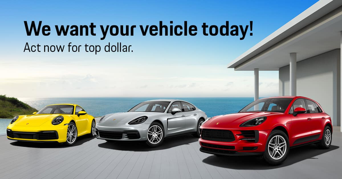 Porsche of Tampa Vehicle Buy Back