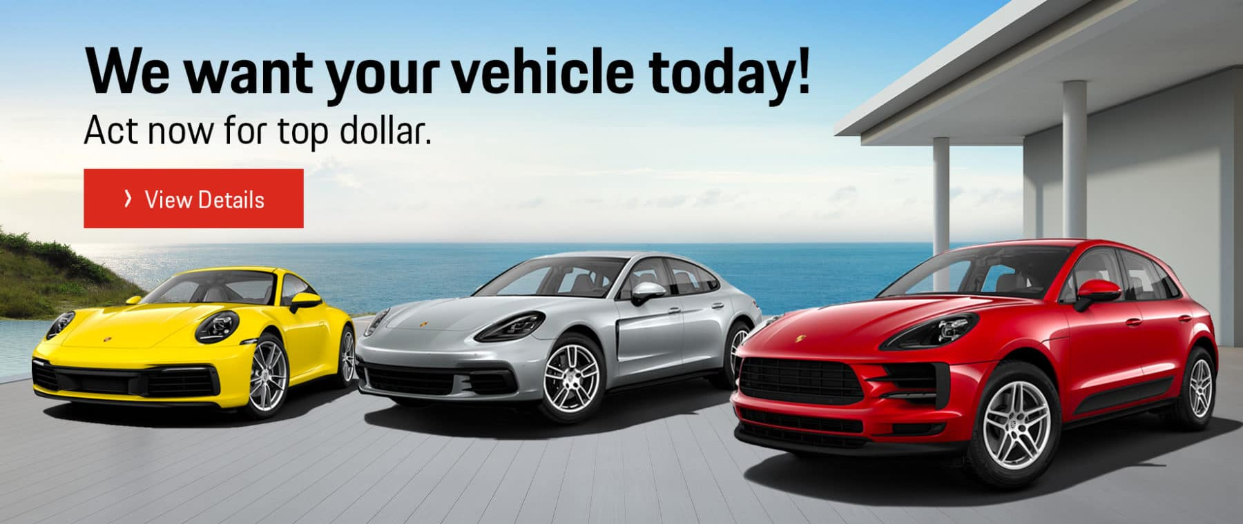 Porsche of Tampa Vehicle Buy Back