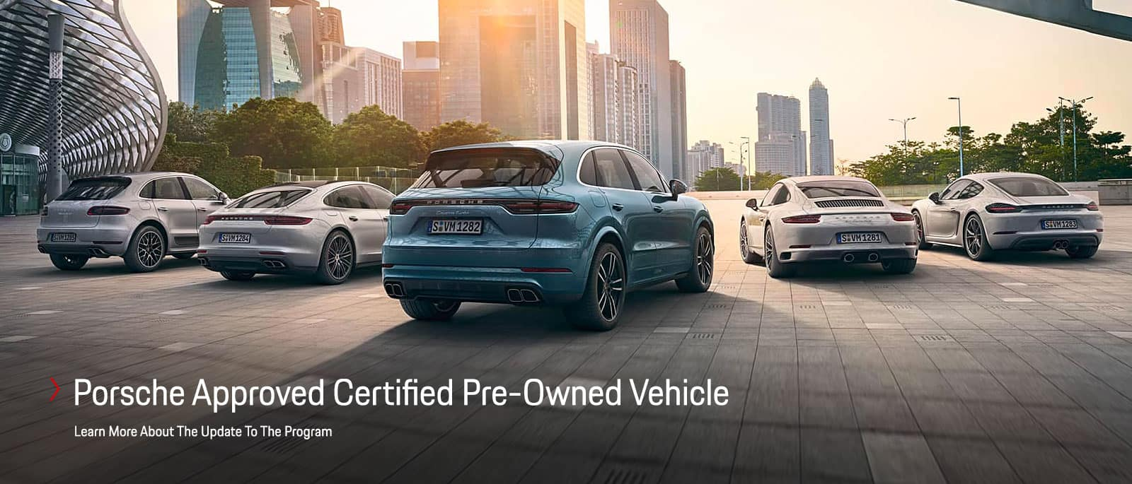 Porsche Approved Certified Program