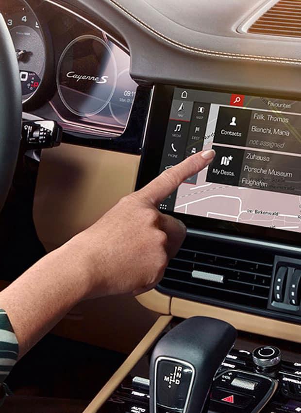 Porsche Connect Functions
