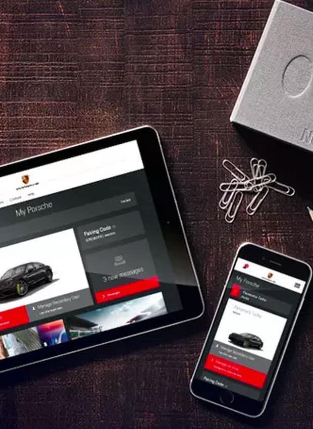 Install Porsche Connect