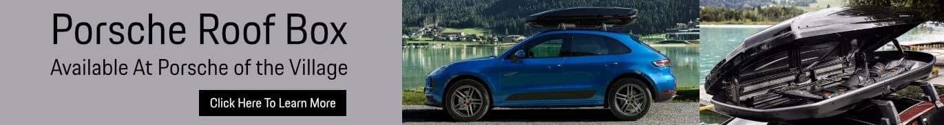 Porsche Roof Box Accessories