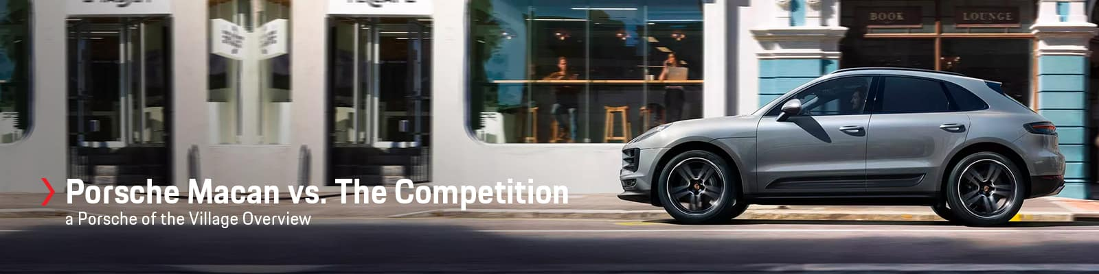 Porsche Macan vs BMW X3 vs Mercedes-Benz GLC at Porsche of the Village