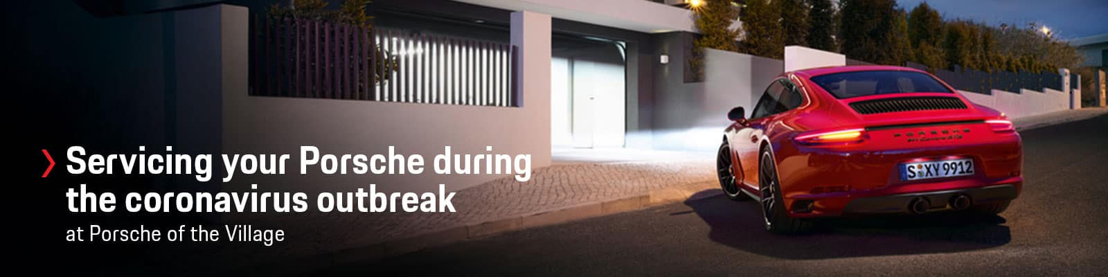 Servicing Your Porsche During the Coronavirus Outbreak