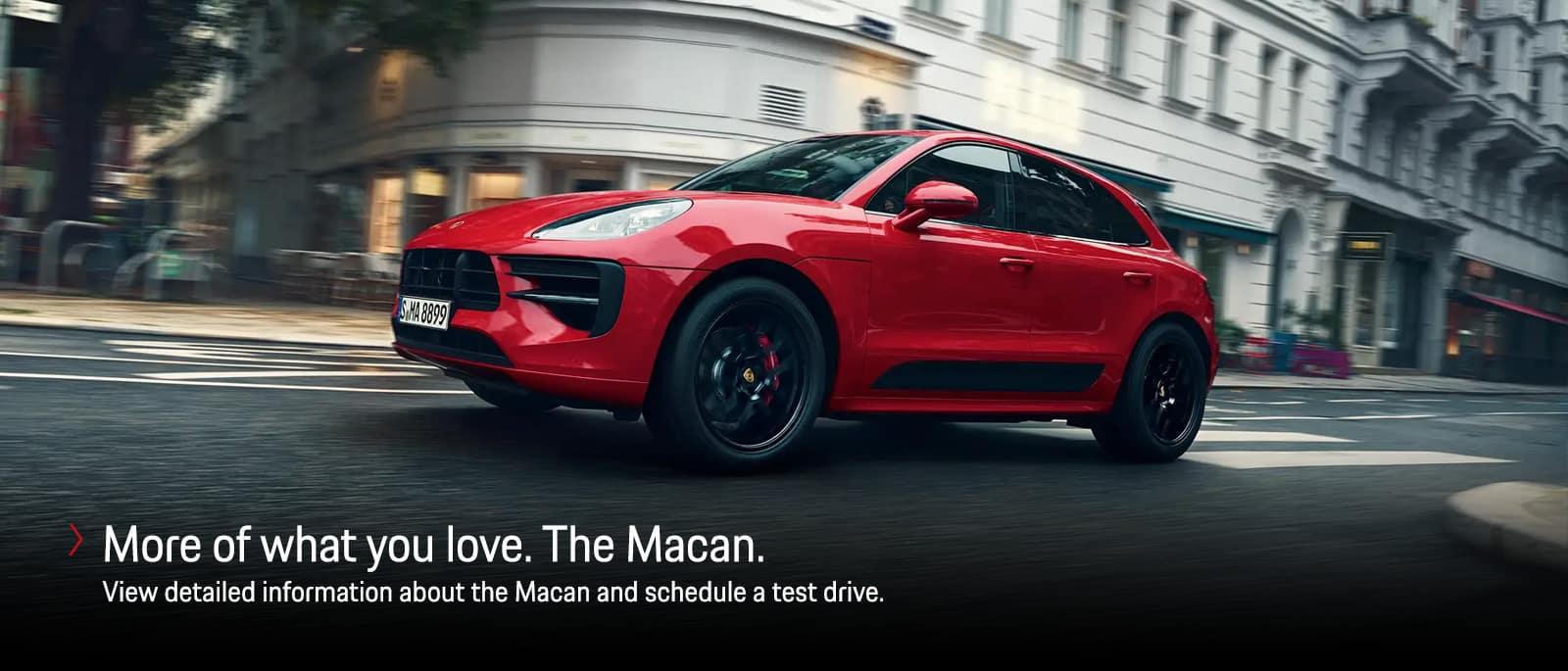 Porsche Macan Information