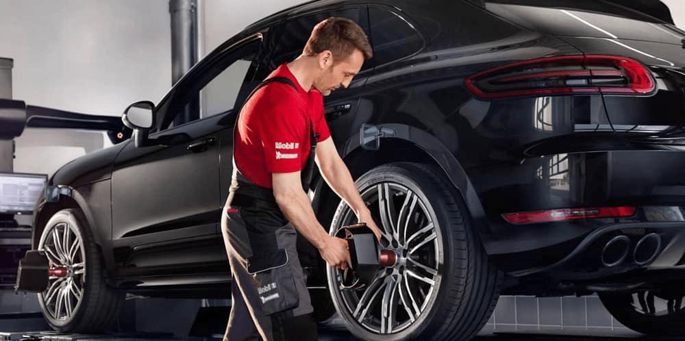 Porsche Tire Service