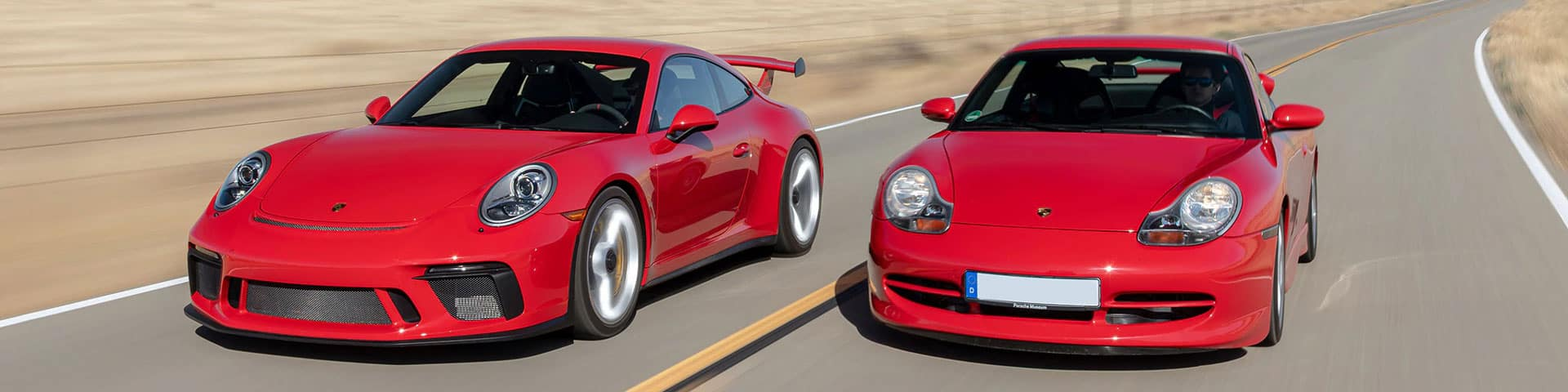 Evolution of the 911 GT3