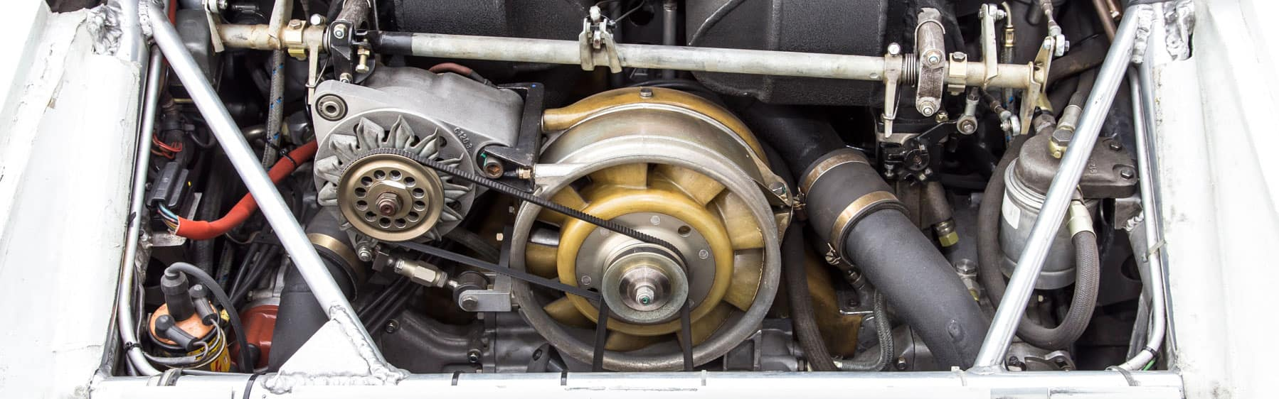 Porsche Water Cooled Engine