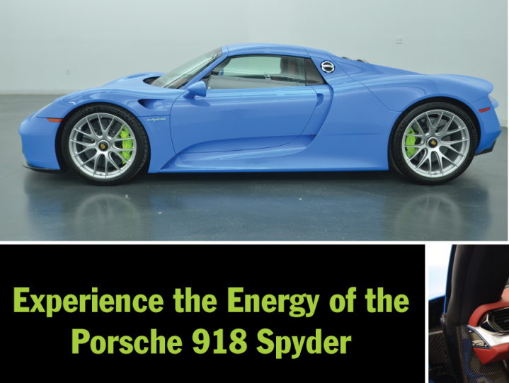 Porsche 918 Spyder With Weissach Package Porsche Omaha