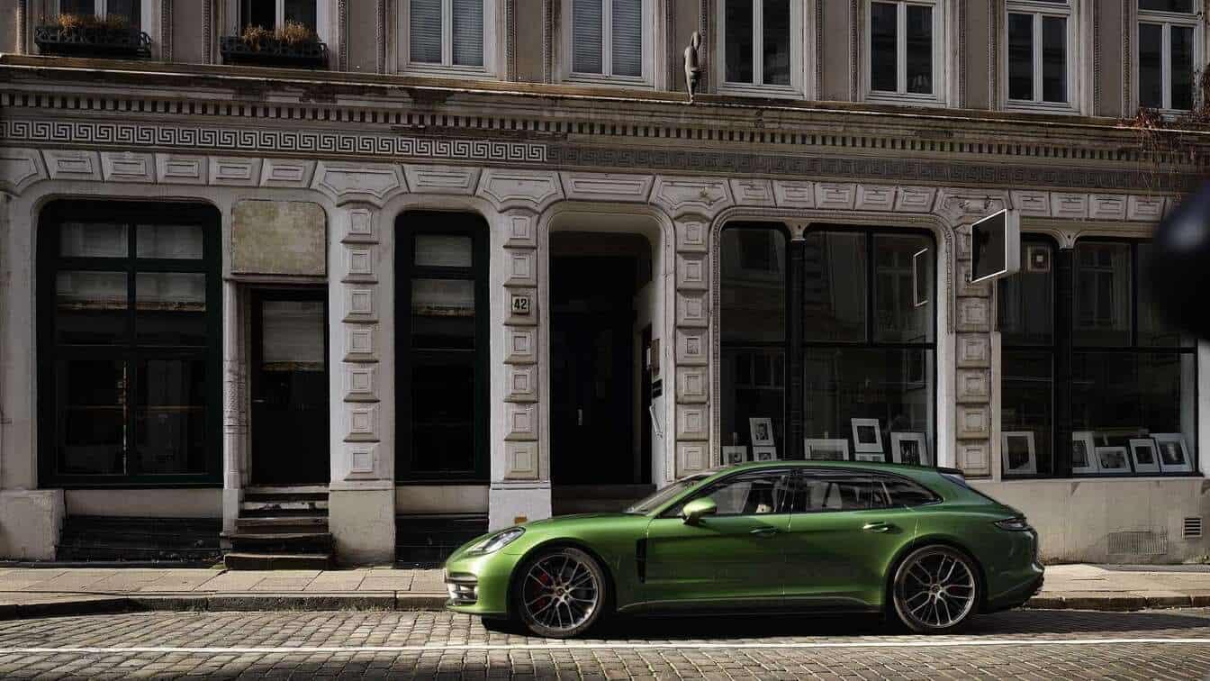 new Porsche hatchback