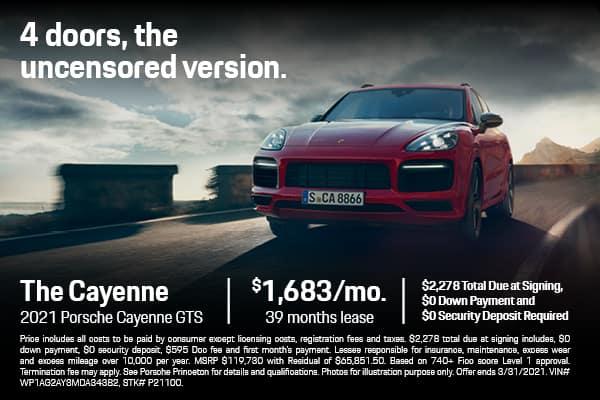 2021 Cayenne GTS