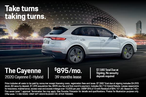 2020 Cayenne E-Hybrid