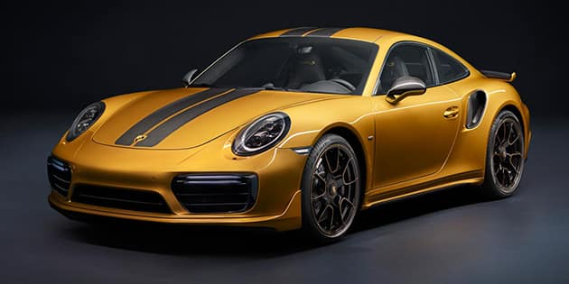Turbo S exclusive.