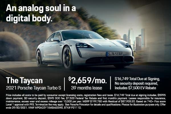 2021 Taycan Turbo S