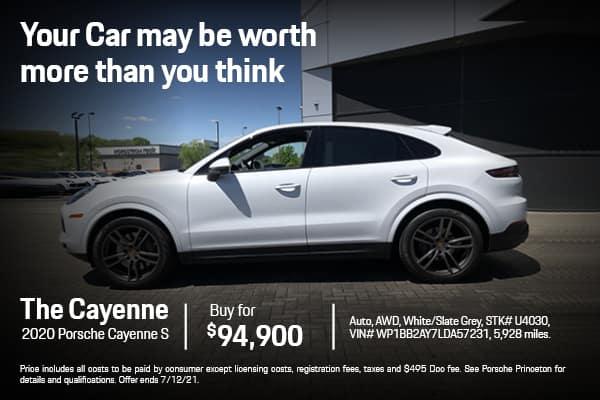 2020 Cayenne S