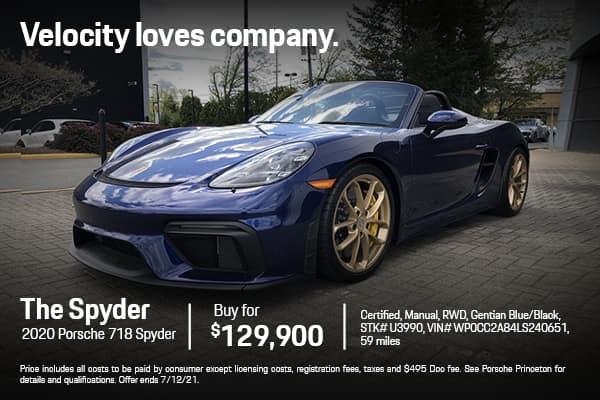 2020 718 Spyder