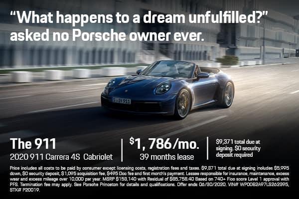 2020 911 Carrera 4S Cab