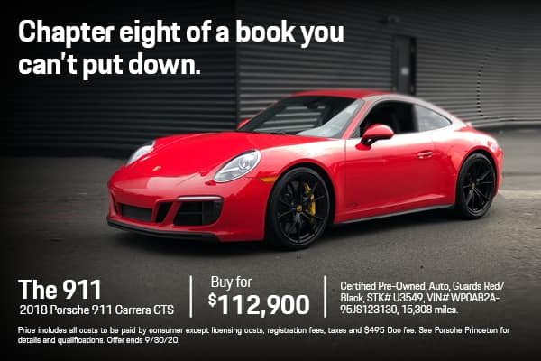2018 911 Carrera GTS