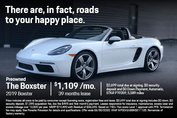 2019 Boxster