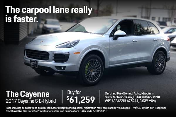 2017 Cayenne S $61,259