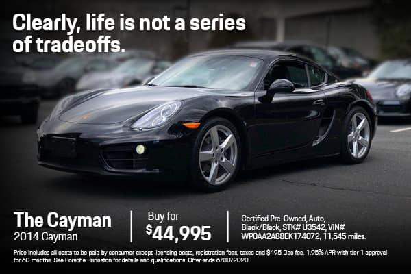 2014 Cayman $44,995