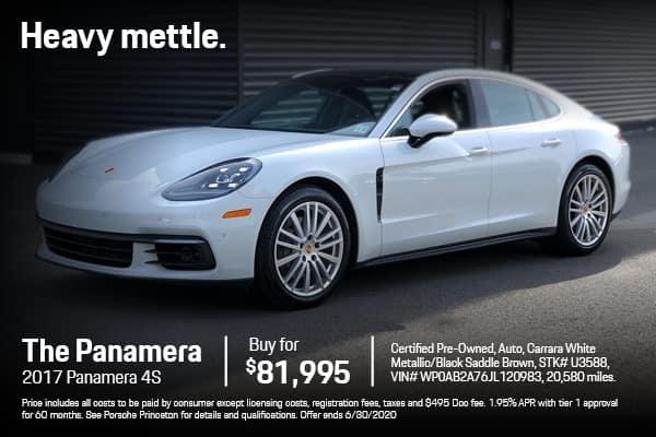 2017 Panamera 4S $81,995