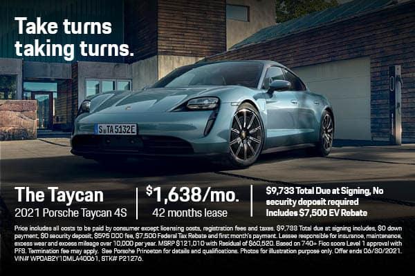2021 Taycan 4S