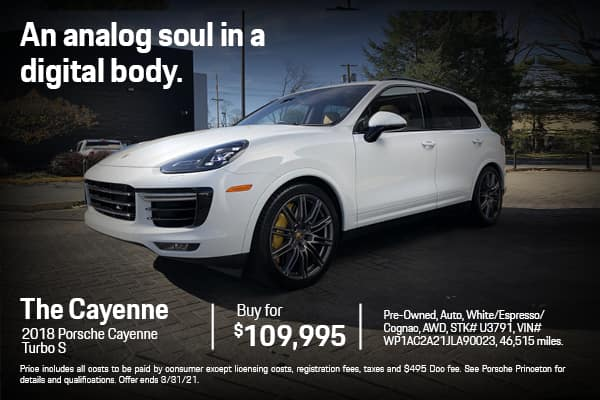 2018 Cayenne Turbo S