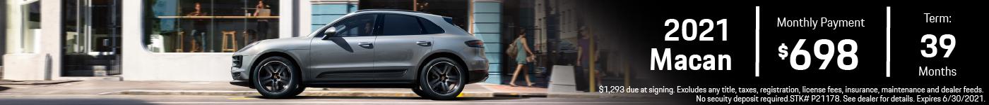 2021 MacanPrinceton Porsche