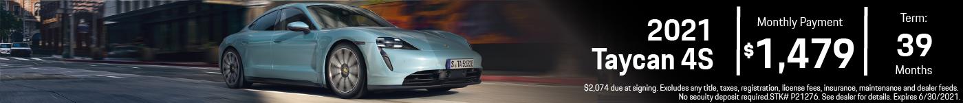 2021 Taycan 4SPrinceton Porsche