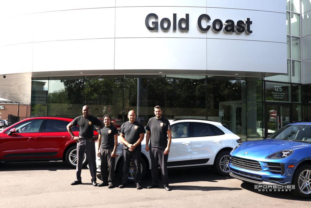 Porsche Service Team