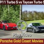 911 Turbo S vs Taycan Turbo S