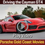Behind the wheel of the Cayman GT4
