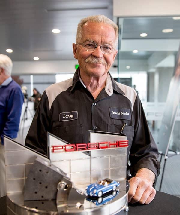 Larry Moulton of Porsche Salt Lake City
