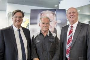 Larry Moulton with Porsche Salt Lake City Leaders