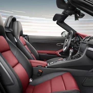 2019 Porsche 718 Seating
