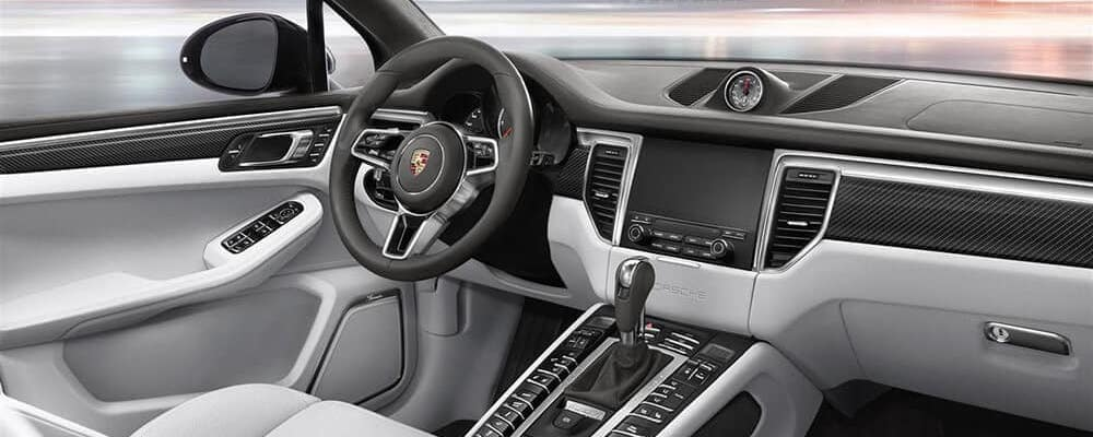 Inside 2019 Porsche Macan Turbo front seats