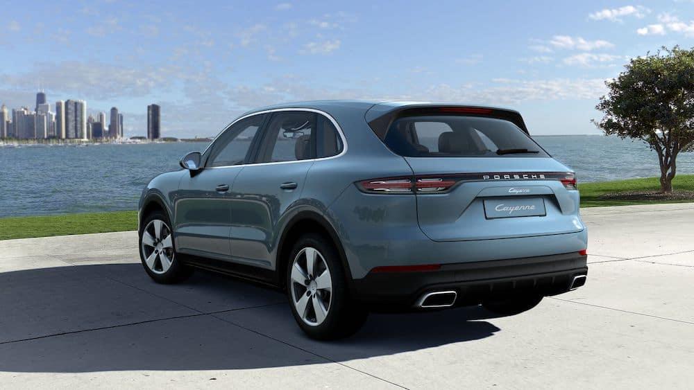 2020 Porsche Cayenne Biscay Blue Metallic
