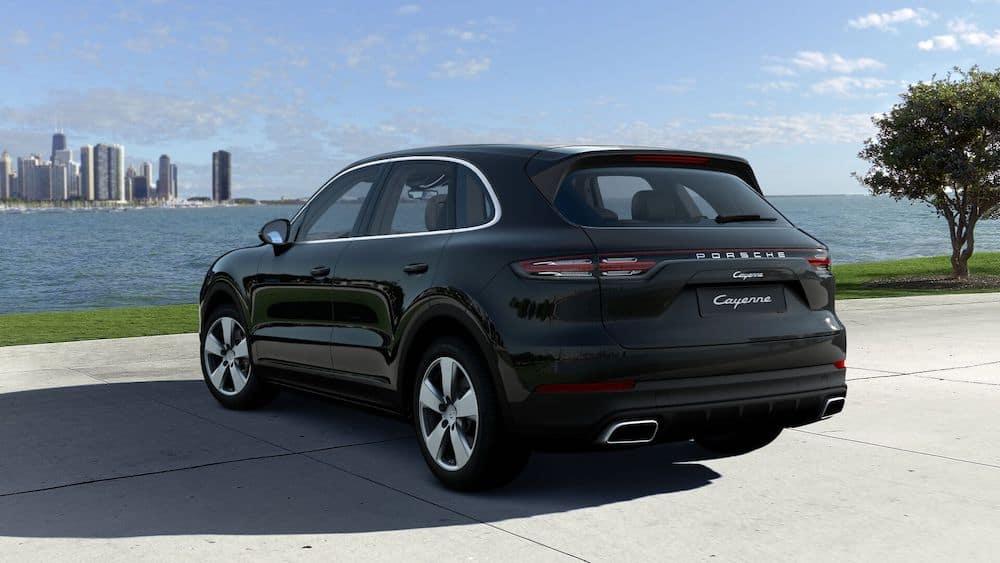 2020 Porsche Cayenne Jet Black Metallic