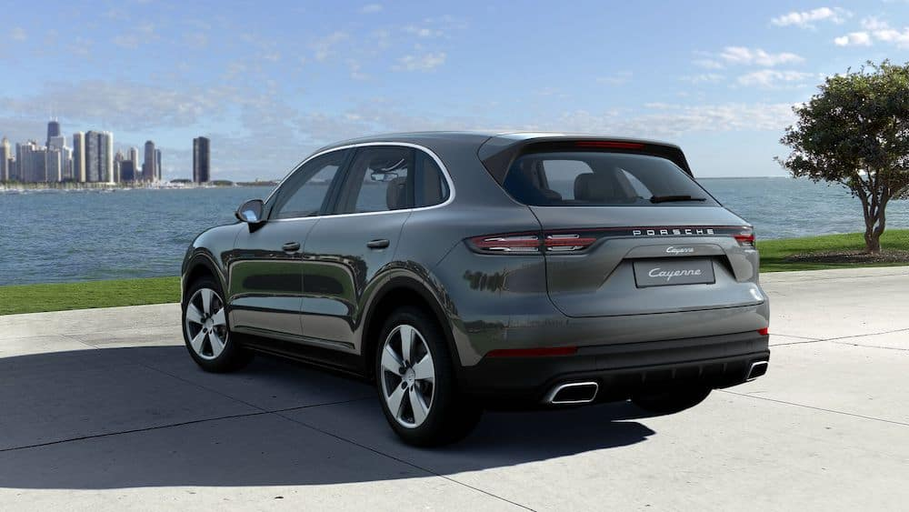 2020 Porsche Cayenne Quartzite Gray Metallic