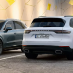 Parked 2020 Cayenne models