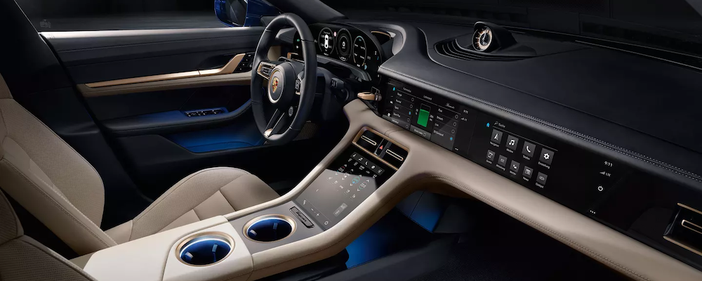 2020 Porsche Taycan Interior Design And Features Porsche South Bay