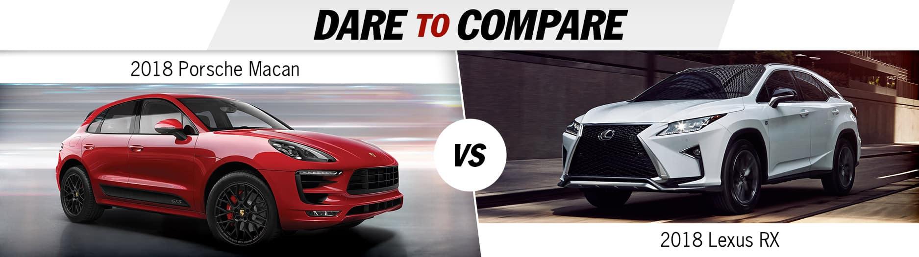 Dare to compare - Porsche vs. Lexus