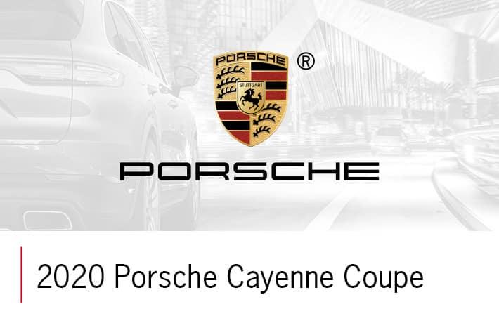 2020 Porsche Cayenne Coupe | Porsche Spokane