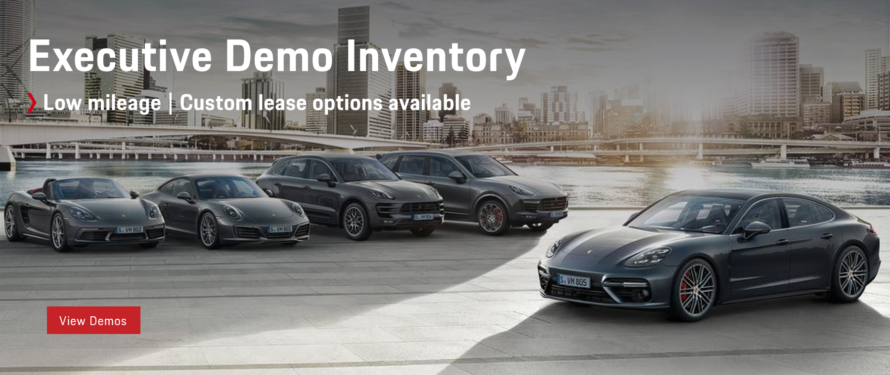 Porsche St. Paul Executive Demo Program