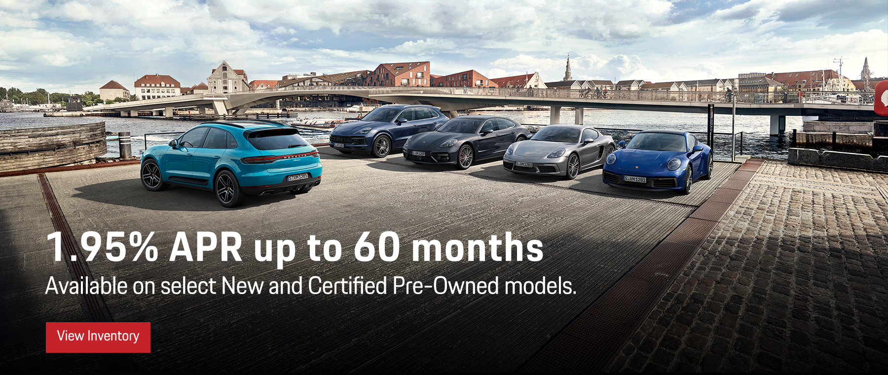 1.9% APR up to 60 months on select new and cpo models