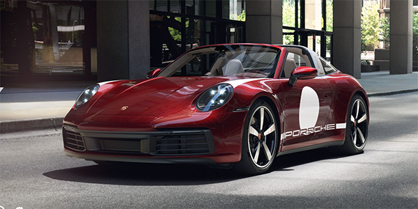 911 Carrera Targa 4S Heritage Design Edition